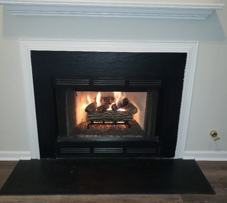 Winter switcheroo? Going from wood to gas logs in your fireplace…